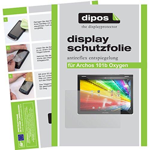 dipos I 2X Schutzfolie matt kompatibel mit Archos 101b Oxygen Folie Bildschirmschutzfolie