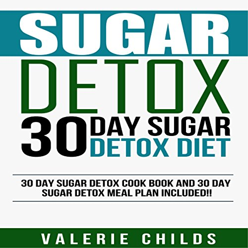 30 Day Sugar Detox Diet: Cook Book and Meal Plan audiobook cover art