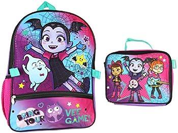 Disney Vampirina Backpack and Lunch Box Set