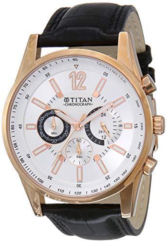 Titan Octane Chronograph Multi-Color Dial Men's Watch - NM9322WL01 / NL9322WL01