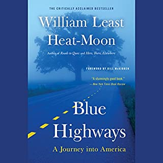 Blue Highways audiobook cover art