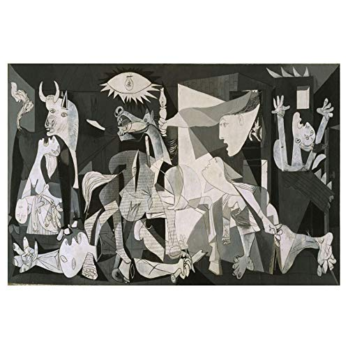 Rompecabezas, rompecabezas de madera de Guernica, entre padres e hijos juguetes, diversión juguetes educativos, juguetes de dibujos animados for adultos de descompresión niños, 500/1000 Piezas, regalo