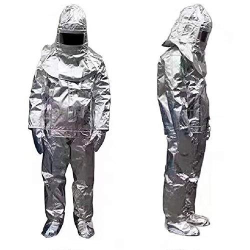 Heatile Aluminiumfolie Arbeitskleidung Schwer entflammbar hitzebeständig wasserdicht Abriebfest Für Feuerfelder mit starker Strahlungswärme