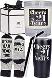 21st Birthday Gifts for Men, 21st Birthday, 21st Birthday Tumbler, 21st Birthday Decorations for...
