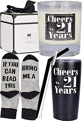 21st Birthday Gifts for Men, 21st Birthday, 21st Birthday Tumbler, 21st Birthday Decorations for Men, 21st Birthday Cup, Gifts for 21 Year Old Man, Turning 21 Year Old Birthday Gifts Ideas for Men