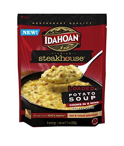 IDAHT Steakhouse Potato Soup, Loaded, 7.1 Ounce