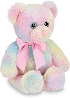 Bearington Candi Rainbow Plush Stuffed Animal Teddy Bear, 12 inches