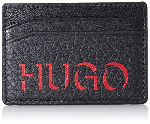 HUGO - Victorian 3_money Cl, Pinzas para billetes Hombre, Negro (Black), 1x7x10 cm (B x H T)