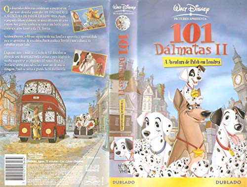 101 Dálmatas 2 - VHS Dublado