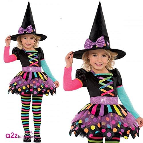 Christys London - Disfraz para niña con diseño bruja, talla S ...