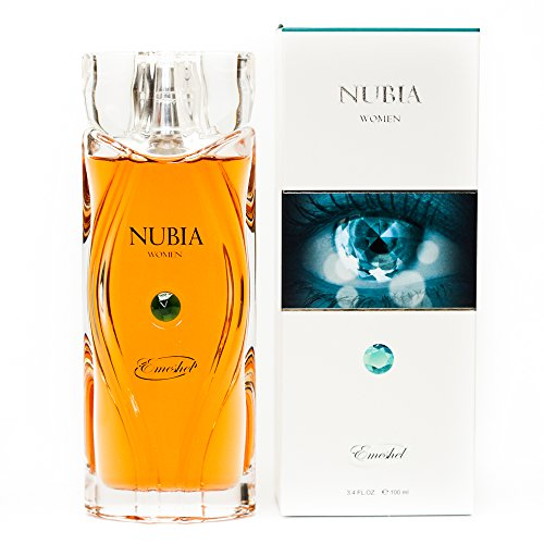 Nubia Green Eau de Parfum für Frauen Natural Spray, 100 ml