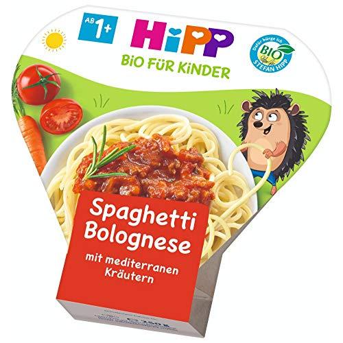 HiPP Bio für Kinder Pasta - Spaghetti Bolognese, 6er Pack (6 x 250 g)