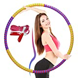 GAX Weight Loss Hula Hoop Adult Weighted Hula Hoops - Fitness Gym Dance Workout Exercise Equipment For Women...