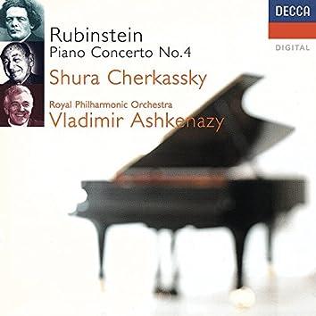 Rubinstein: Piano Concerto No. 4 etc