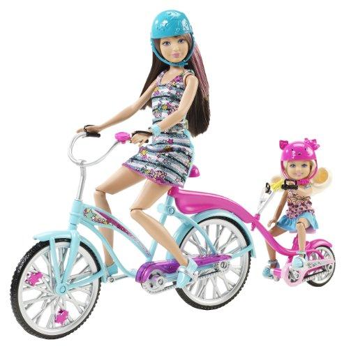 Mattel V3131 - Barbie Family Fahrrad, Zubehör