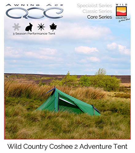 Wild Country Coshee 2 Adventure Backpacking Technical Adventure Tent