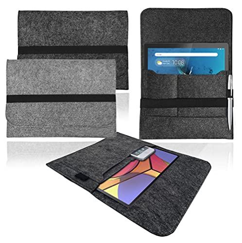 Funda de fieltro para Lenovo Tab P11 de 11 pulgadas, color gris claro