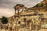 ジグソーパズル500個エフェソストルコの遺跡の寺院、大人用ジグソーパズルセット、ジグソーパズルおもちゃゲームギフト52x38cm