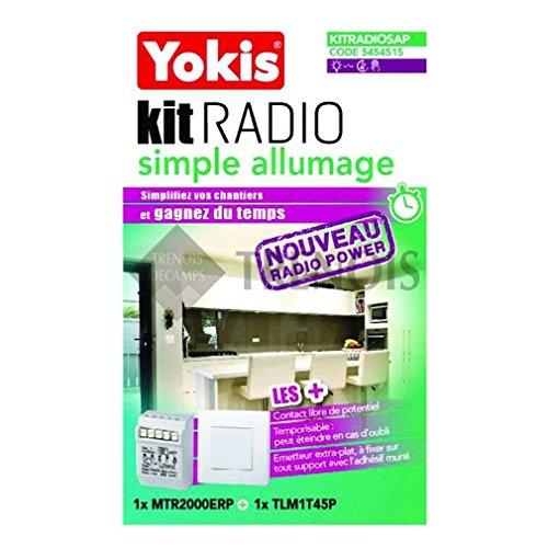 kit radio - simple allumage - power - yokis kitradiosap