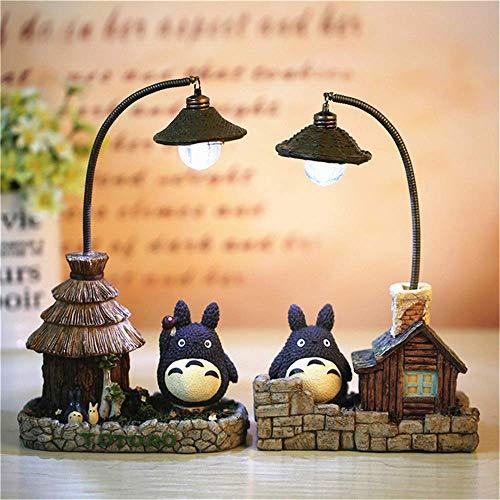 2er Set My Neighbour Totoro Nachtlichter Creative Studio Ghibli Nachtlampen für Kinder Mädchen Geschenke Startseite Bettengröße Spielzeug Dekoration Lampe