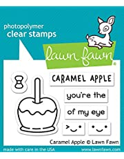 Lawn Fawn Caramel Apple Clear Stamp Set (Lf1759) (Pack of 3)