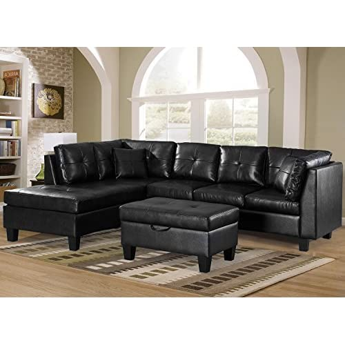 Groovy Black Sofas For Living Room Amazon Com Caraccident5 Cool Chair Designs And Ideas Caraccident5Info
