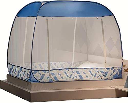 Sunny Moustiquaire Pop-up - Filet Tente Pliante - Moustiquaire Portable, Intérieur Et Extérieur Ripstop (Couleur   A, Taille   1.5m (5 Feet) Bed)