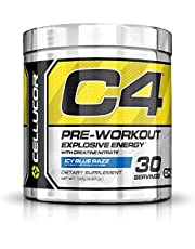Cellucor C4 Pre Workout Supplement Icy Blue Razz, 195 g