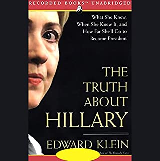 The Truth About Hillary audiobook cover art