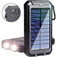 YELOMIN S1008D 20000mAh Portable Power Bank with 2 USB Charging Ports