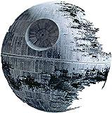Pegatina para decorar la pared, con diseño de la Estrella de la Muerte de Star Wars, de 50cm y que se puede despegar