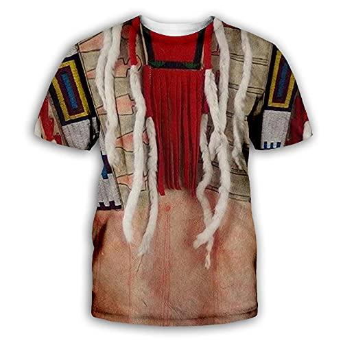 LIUBAOBEI 3D Camisetas para Hombre,Camiseta De Hombre con Patrón Personalizado Popular, Moda De Verano, Manga Corta, Cuello Redondo 3D, Tops De Manga Corta para Hombre, Ropa De Calle Hip Hop-S