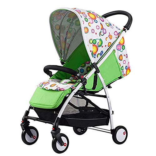 Buy Bargain Cylficl Baby Strollers can be Seated on Folding Umbrellas. Portable high Landscape 4 Seasons Universal, Suitable for Children Aged 0-3 (Color : 1)