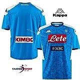 Kappa Maglia Replica Home 2019/2020 Camiseta De Juego, Hombre, Azul, M