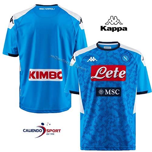 Kappa Maglia Replica Home 2019/2020 Camiseta de Juego, Hombre, Azul, XL