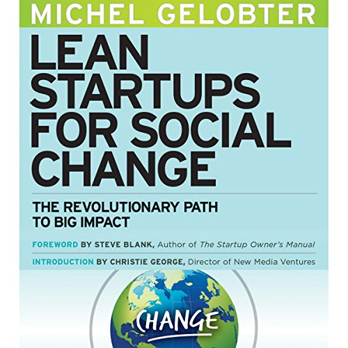 Lean Startups for Social Change audiobook cover art