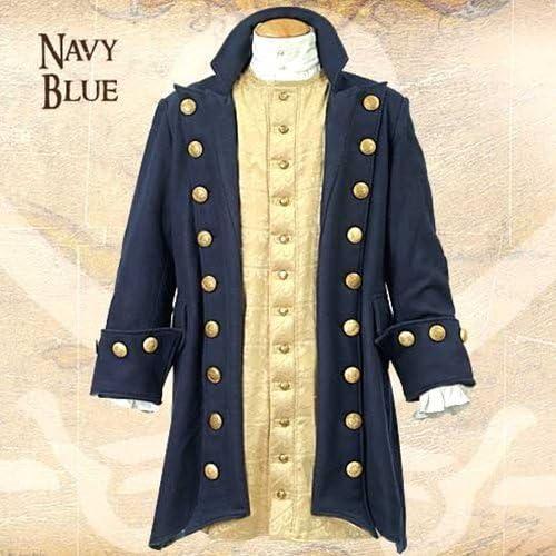 últimos estilos Museum Replicas Buccaneer azul Wool Pirate Coat Coat Coat XXL by Museum Replicas  ordenar ahora