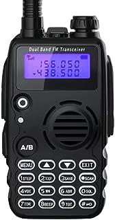 Radioddity GA-5S 7W High Power Two Way Radio UHF VHF Dual Band Ham Radio Walkie Talkie with Flashlight Squelch 1800mAh Battery + Earpiece