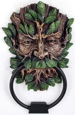 Celtic GreenMan Green Man Door Knocker