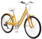 Schwinn Suburban Comfort Hybrid Bike, Featuring Low Step-Through Steel Frame and 7-Speed Drivetrain...