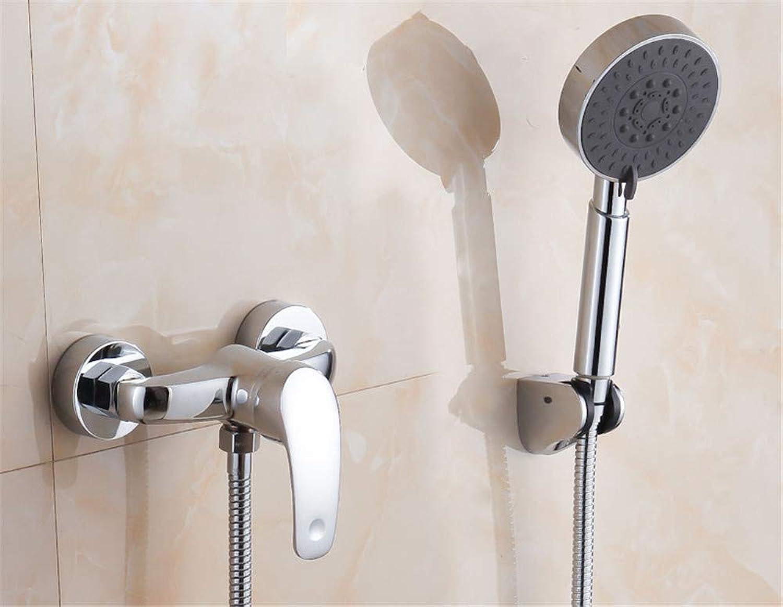 Yuanshuai2933-Faucet Kupfer-Krper-heies und kaltes Wasser-Küchen-Hahn Waschbecken-Mischbatterie