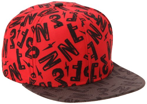NEFF Desined Caps Casquette Mixte Adulte, Rouge, FR : (Taille Fabricant : Adjustable)
