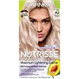 Garnier Hair Color Nutrisse Ultra Color Nourishing Hair Color Creme, Mascarpone Creme Pl2, Pack of 1