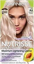 Garnier Hair Color Nutrisse Ultra Color Nourishing Hair Color Creme, Mascarpone Creme Pl2, Pack of 1