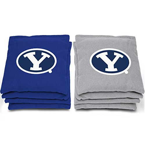 "NCAA BYU Cougars Bags, 6"" x 6"", Gray"