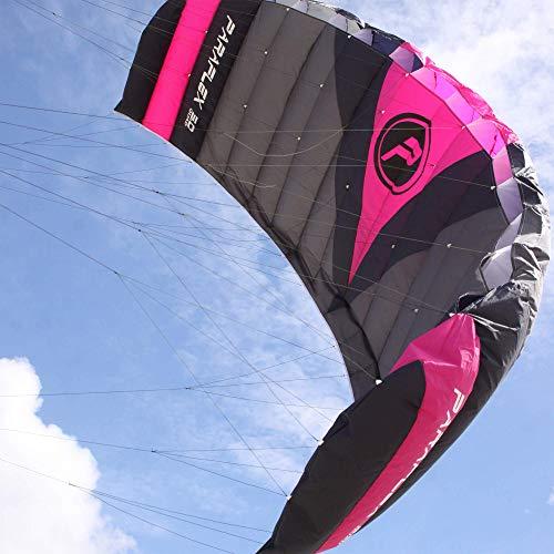 Wolkenstürmer Paraflex Quad 5.0, 4-Leiner Action Lenkmatte - Hochwertiger Kite mit Handels - optional mit Bar