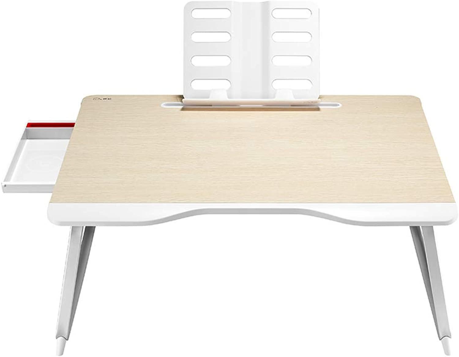 Ailj Small Table On The Bed, Folding Table, Computer Desk, College Student Desk, Folding Lazy Small Table, Multi-Functional Desk, Study Table