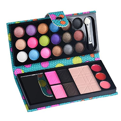 PinkLu Lidschatten Lidschatten Palette,Magischer Lidschatten Lidschatten Applikatoren 26 Colors Eyeshadow Makeup Palette Cosmetic Lidschatten ErröTen Lippenpuder