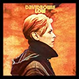 David Bowie Basso con Cornice Classica Manica Memorabilia, Multicolore, 30,5cm