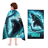 God-Zilla Vs KO-ng Beach Towel Super Soft Hotel and Spa Ultra Absorbent Pool Bath Towels for Kids Adults Outdoors Bath Sheet Large Bath Towel Daily Use Body Towels 32x52in